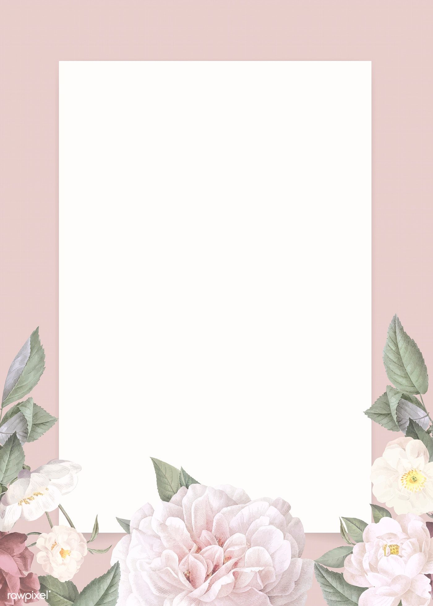 Floral Pattern. Wallpaper Baroque, Damask. Seamless Vector