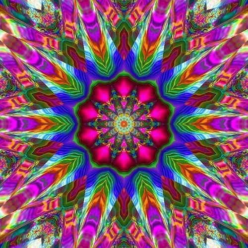 Rainbow Plasma Kaleidoscope | Flickr - Photo Sharing!