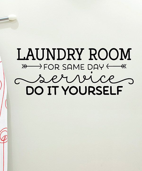 Look at this 'Do it Yourself' Wall Quotes Decal on #zulily today!