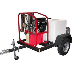 Pin On Top Professional Hot Pressure Washer Trailers