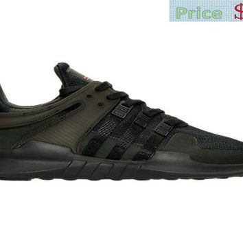 Factory Authentic 2018 Mens adidas EQT Support ADV Casual Shoes Triple  Black BB1304 BLK sneaker eea578840