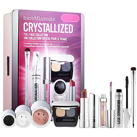 crystalized full face collection  bareminerals  sephora