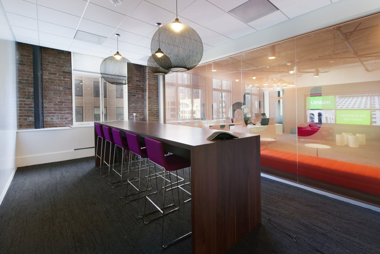 Lithium Technologies Modern Collaborative Office Space