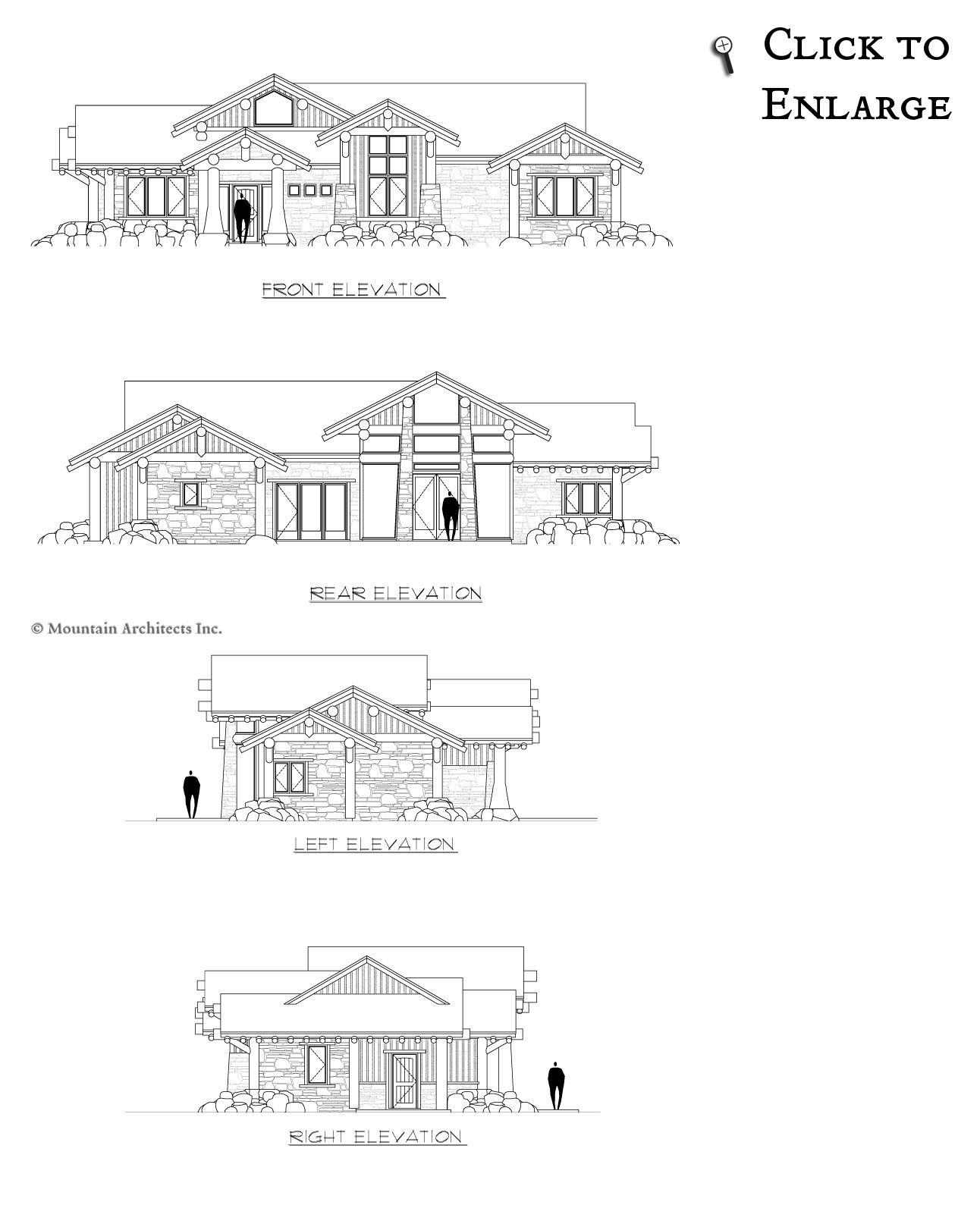 Elevation of Trucklee Floor Plan