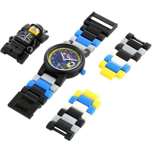 It's time to keep the peace in Bricksburg! LEGO Kids' Bad Cop Minifigure-Link Watch from MChrono.com