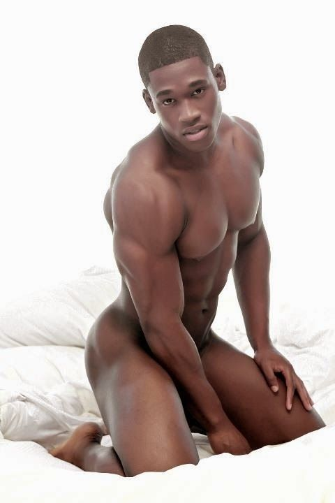 beautiful nude men black