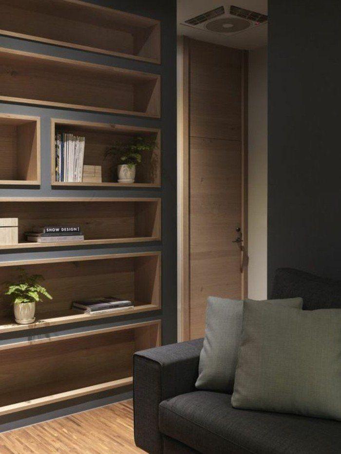 1001 id es comment d corer vos int rieurs avec une niche murale am nagement int rieur pinterest. Black Bedroom Furniture Sets. Home Design Ideas