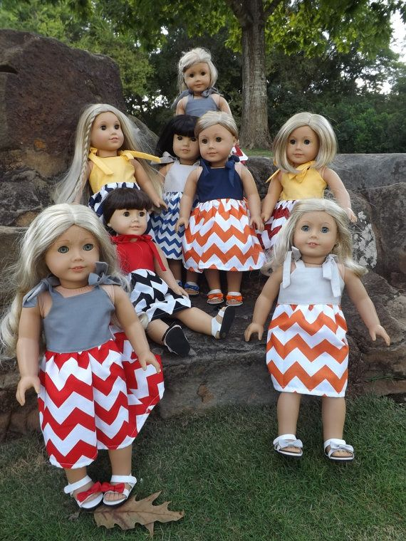 These dolls look creepy lined up like this...children of the corn, ugh. No, JUST NO.
