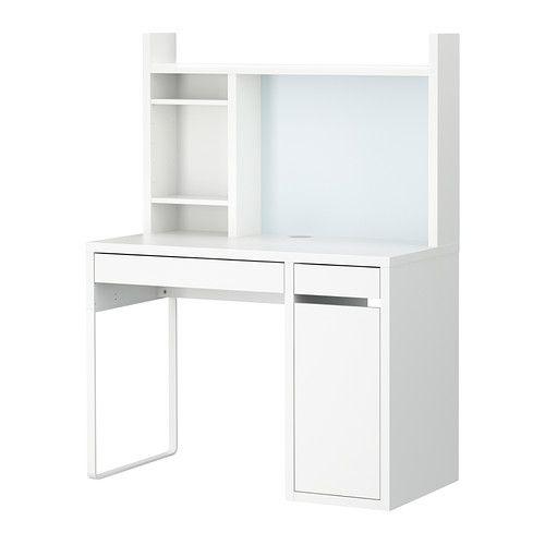 micke poste de travail blanc ikea travaux et tableaux. Black Bedroom Furniture Sets. Home Design Ideas