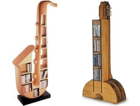 diy guitar shelf plans | guitar cd rack and sax rack | brianna ...