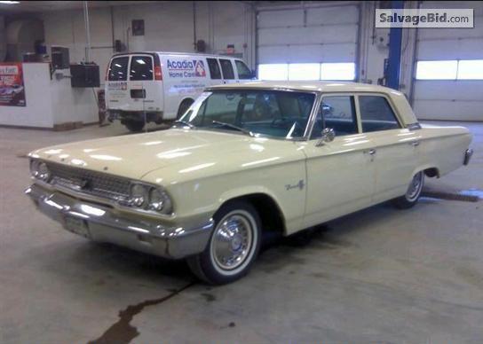 1963 FORD GALAXIE VIN:  3E54V221480