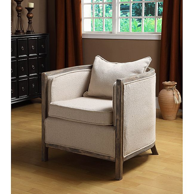 Modern Rustic Accent Chair Restoration Hardware Esque Home General Pinterest Modern