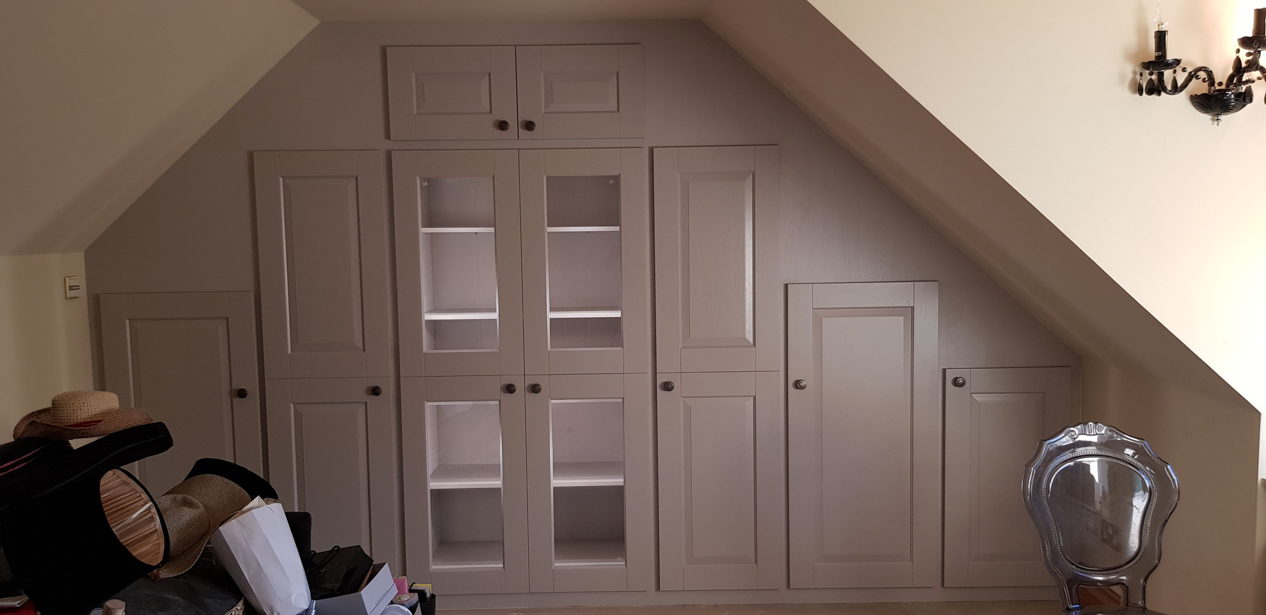 A bespoke fitted wardrobe done for a happy customer