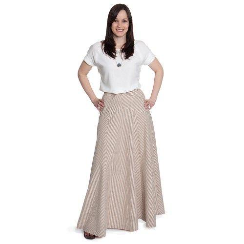 Schnittmuster: 1401 Gabriola Skirt - toll mit Streifen! | Nähen ...