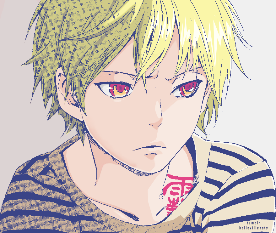 "bellevillenaty ""Noragami Chapter 26 Yukine colored"
