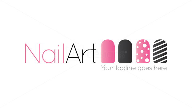 nails logo google beauty logo badges