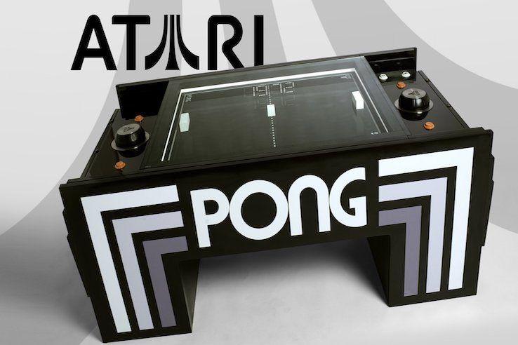 Atari Pong Coffee Table Coffee Table Games Pong Coffee Table
