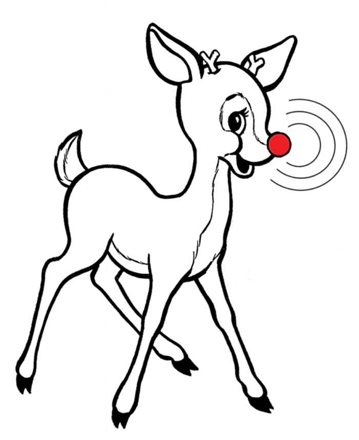 Rudolph S Signature Red Nose Now Linked To Rosacea 225 Coloring
