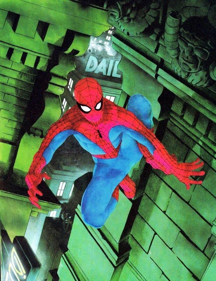 Spider-Man by Michael Golden *