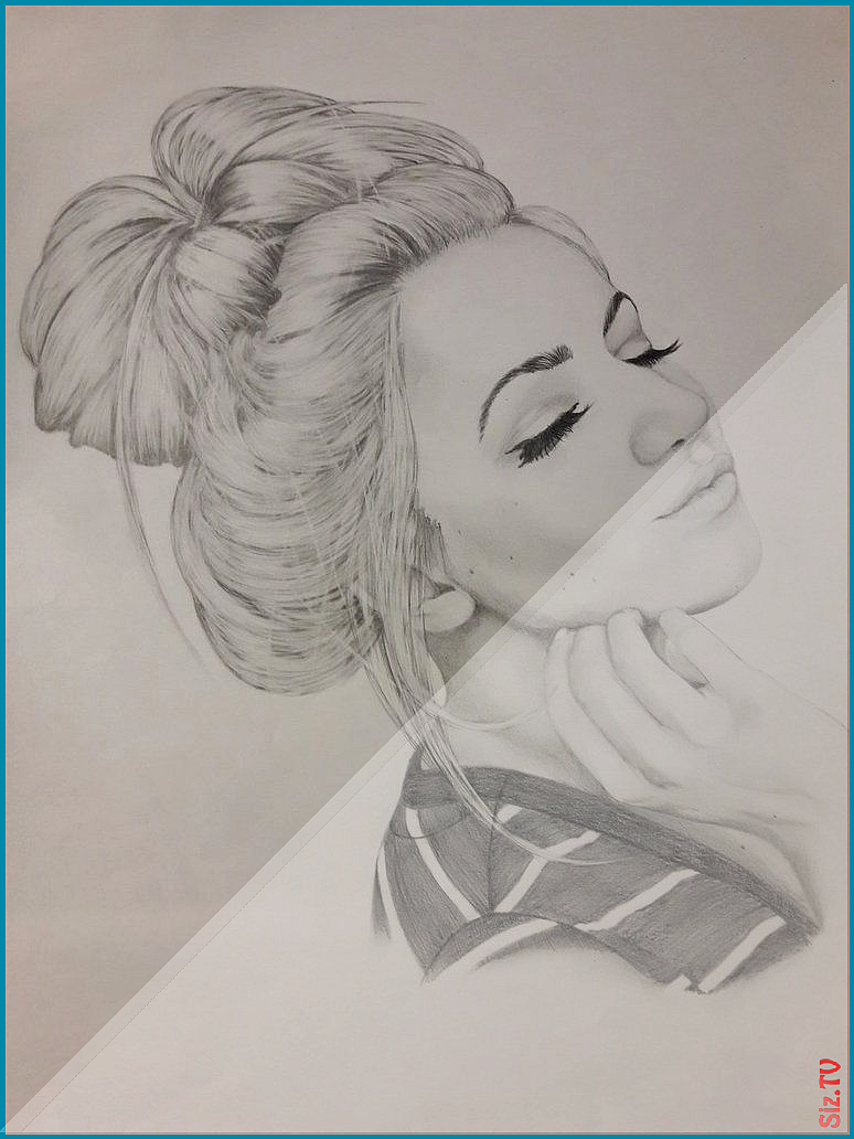Messy Bun Outline : messy, outline, Messy, Sketch, PaintingValleycom, Explore, Colle&;, Mes…, Hairstyles,, Hairstyles