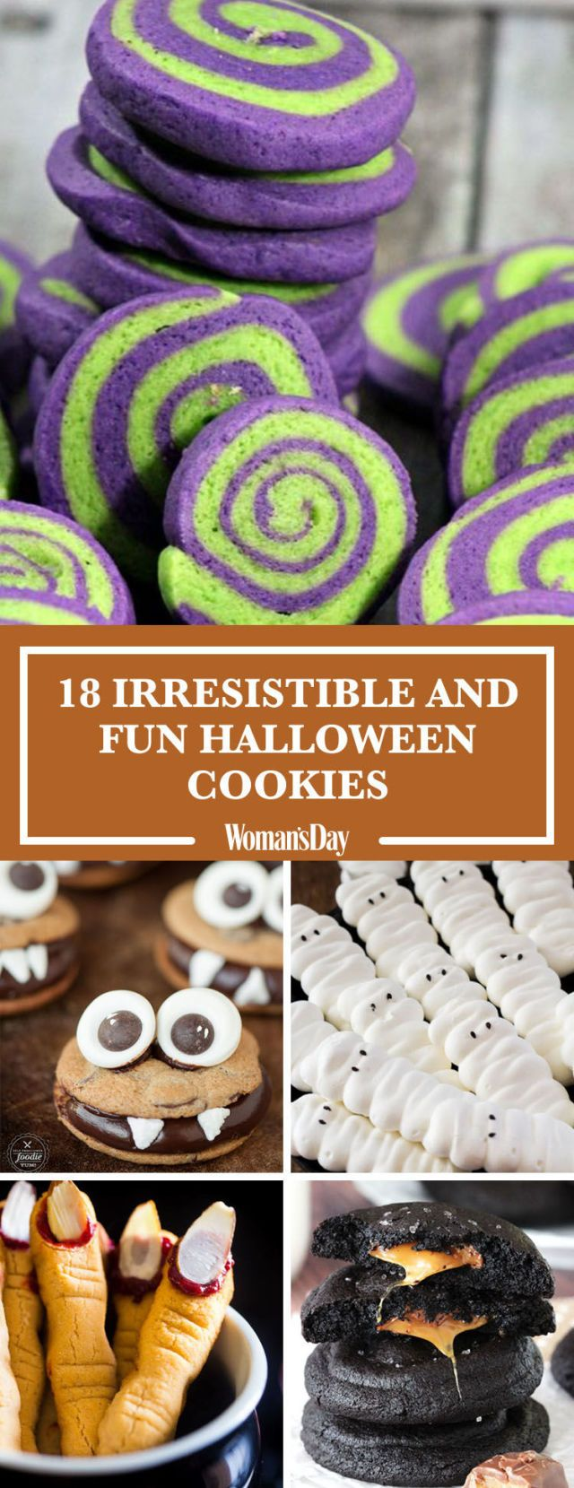 40 Halloween Cookies That Are So Easy to Make It's Scary -   23 halloween cookie recipes ideas