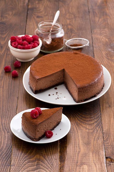 La cheesecake Choco noir - Scuola di cucina - Donna Moderna ...