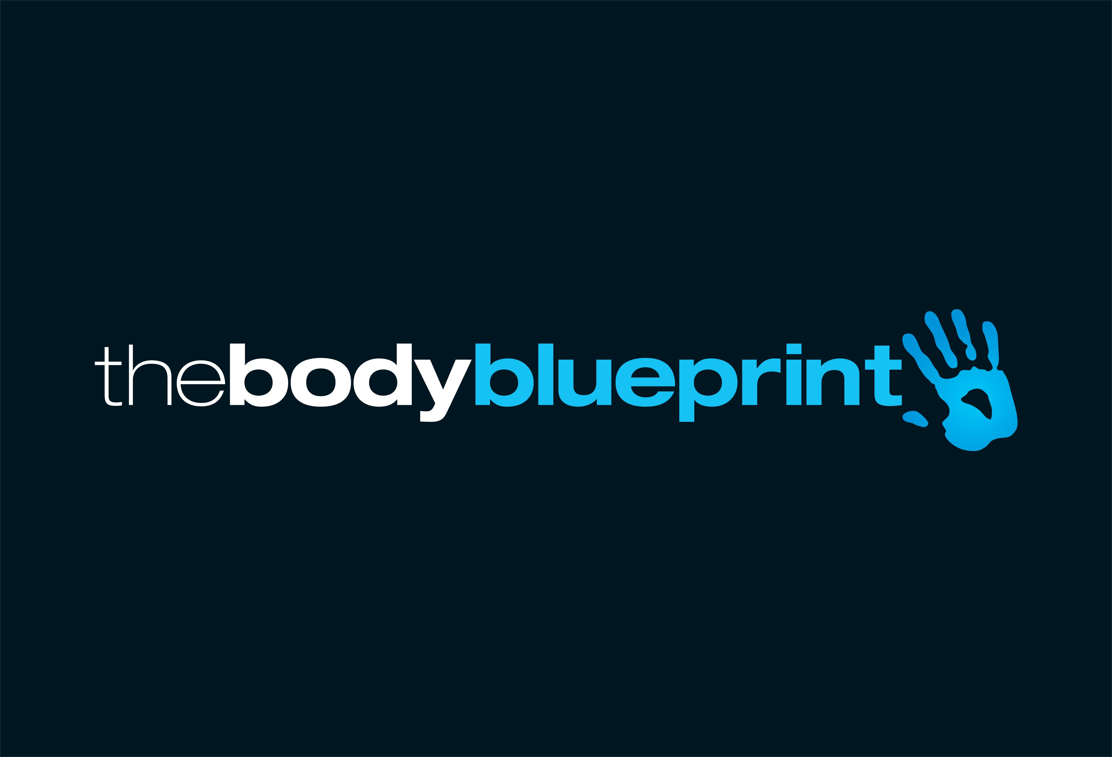 logo design the body blueprint personal trainer and