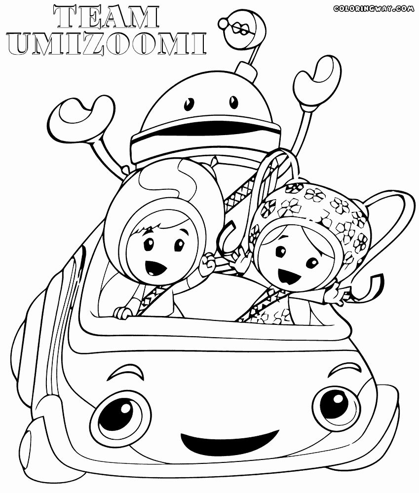 Team Umizoomi Coloring Page Best Of Team Umizoomi Coloring ...
