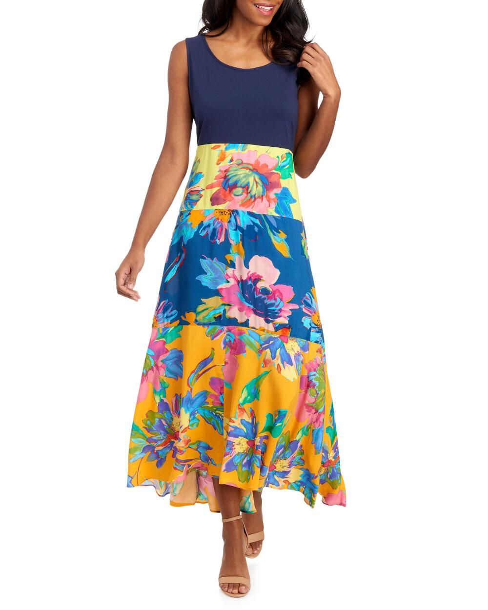 Ivy Lane Floral Tiered Maxi Dress Occasion Maxi Dresses Tiered Maxi Dress Warm Weather Fashion [ 1250 x 1000 Pixel ]