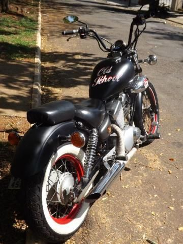 yamaha xv virago 250cc bobber chopper old school troco. Black Bedroom Furniture Sets. Home Design Ideas