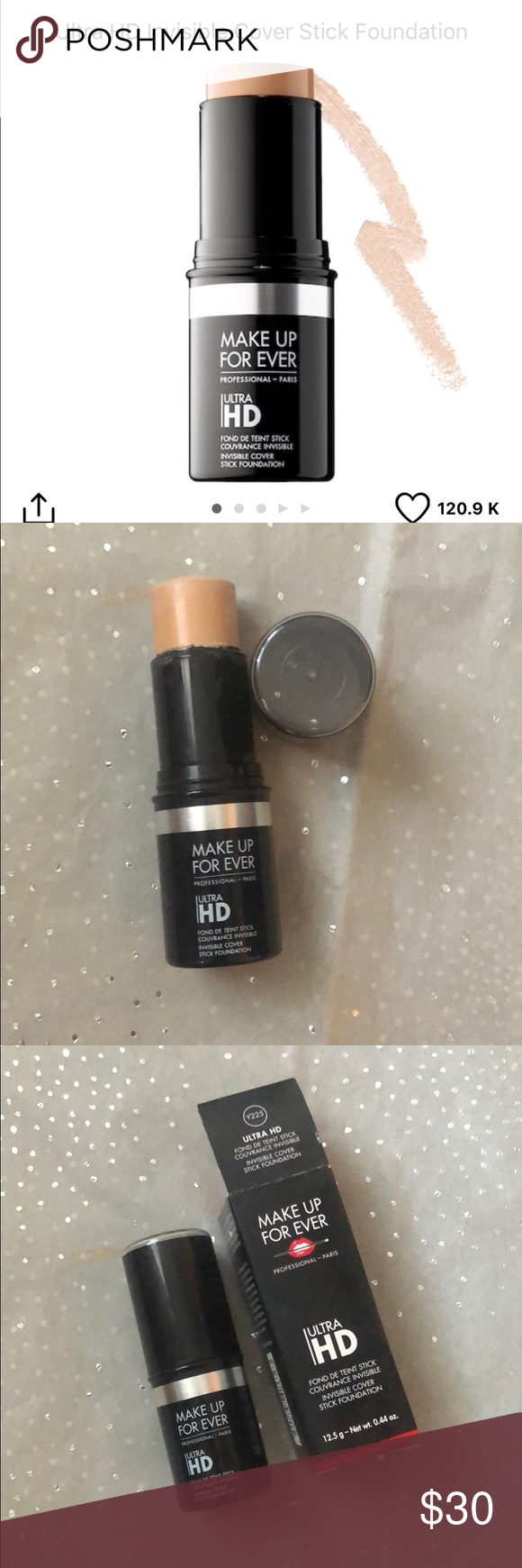 Makeup Forever Ultra HD stick in shade Y225 Makeup