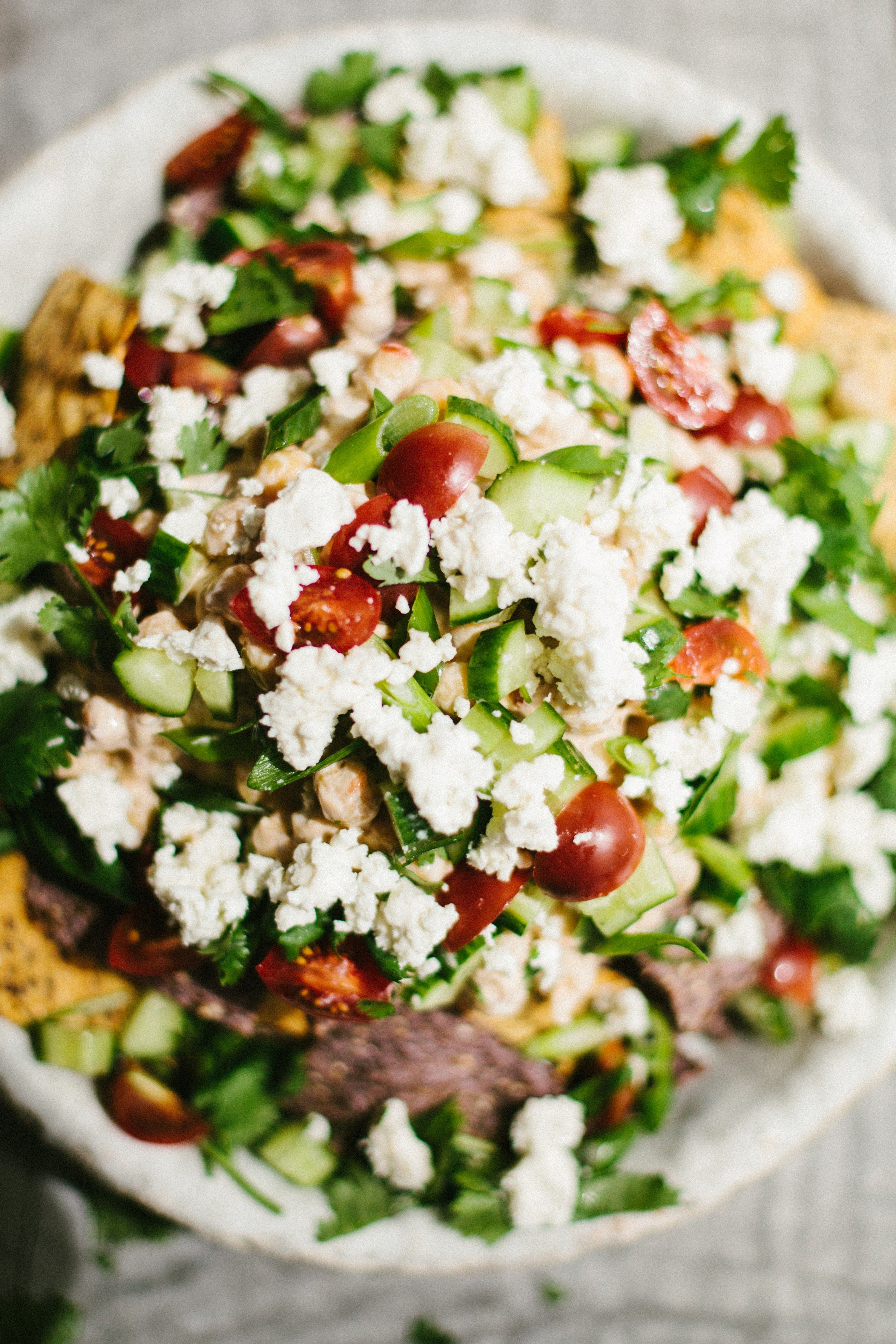 Middle eastern nachos in 2020