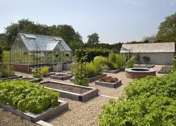 Kitchen Garden Raised Herb Garden Garden Design Backyard Landscaping