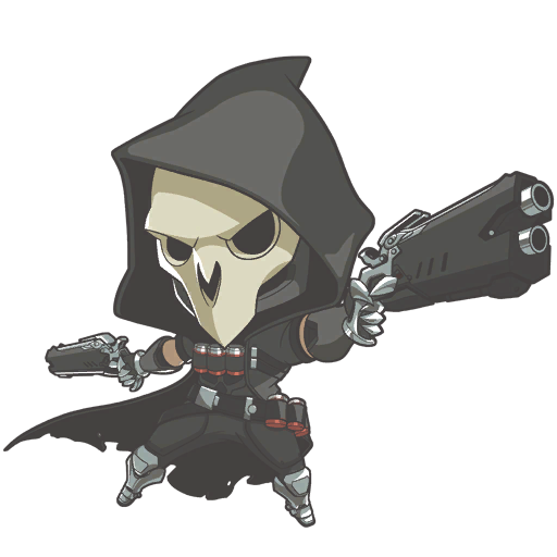 Overwatch Reaper Chibi Google Search Overwatch Reaper Overwatch Chibi Characters