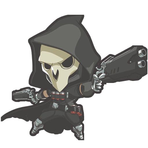 overwatch reaper chibi - Google Search | chibis ...