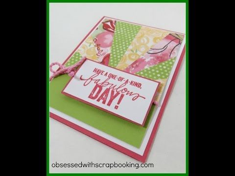 Obsessed With Scrapbooking How To Make A Sunburst Card Cards
