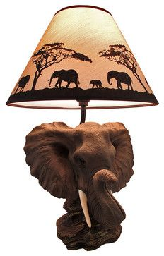 I Love This Lamp It Fits The African Safari Theme 110