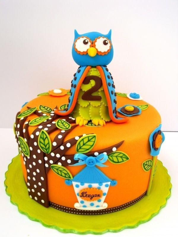 Owl cake for kids birthdays Endya Stephens Favorite Recipes