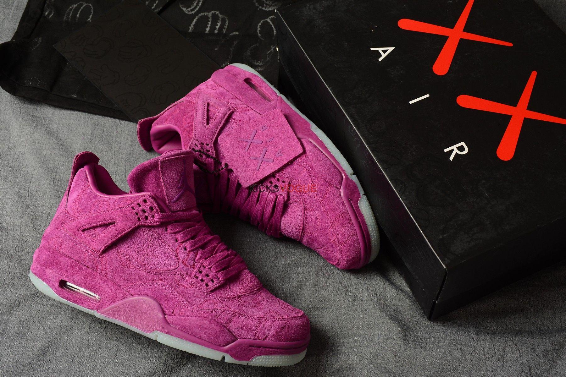 299c70f43e64 KAWS x Air Jordan 4 Violet 930155-027