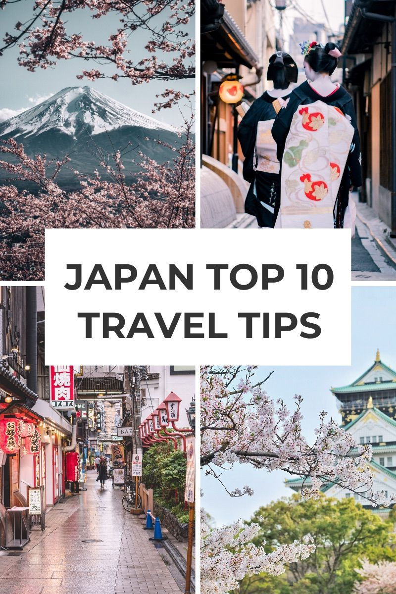 Japan Tips and Tricks: First time in Japan? Don't miss these top 10 essential travel tips to plan your first trip to Japan | What to know before you go to Japan #japantravel #japanfirsttime