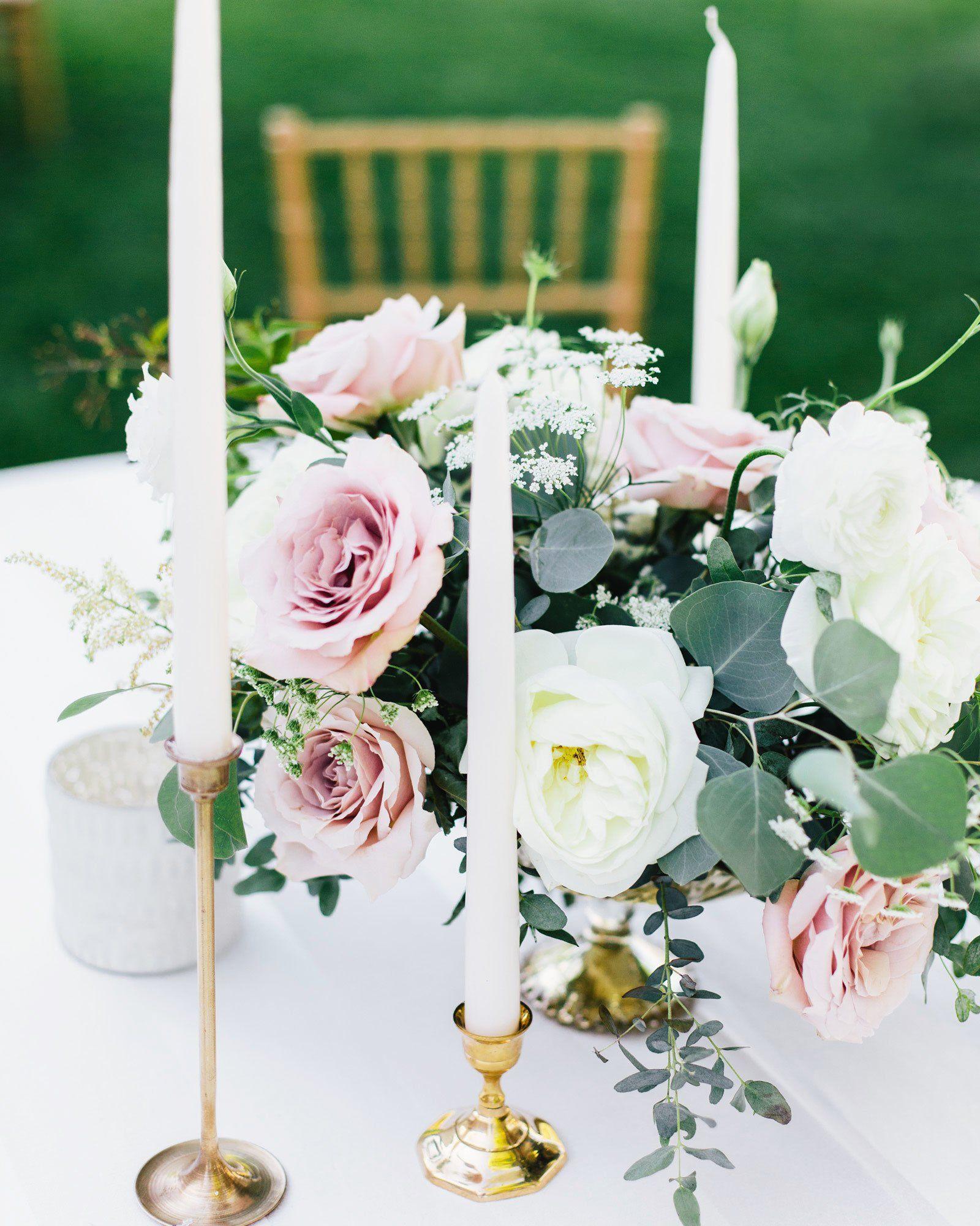 50 Wedding Centerpiece Ideas We Love Round wedding