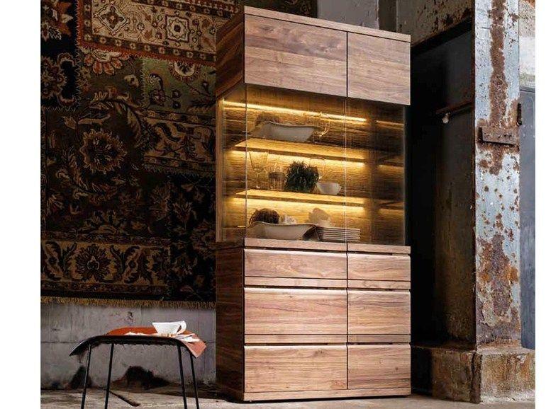 Solid Wood Display Cabinet V Loft Collection By Voglauer Voglauer