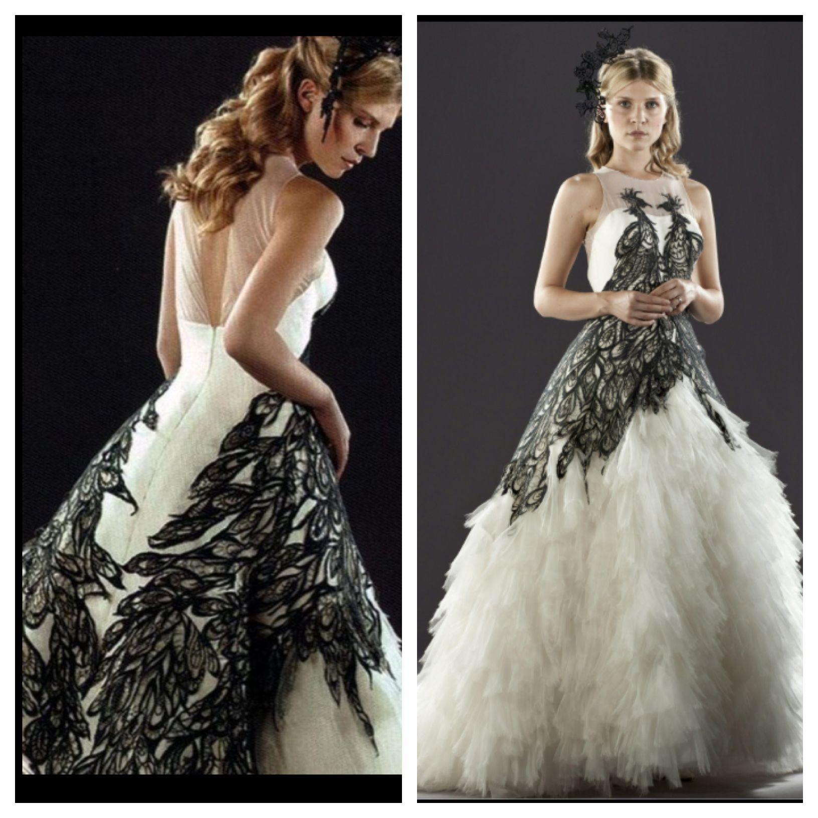 Fleur Delacour wedding dress custom my future wedding dress