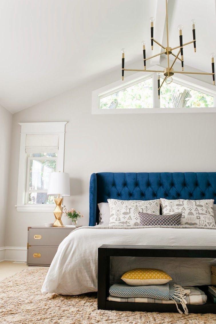 Antes&Después: dormitorio en azul | Pinterest | Antes después ...