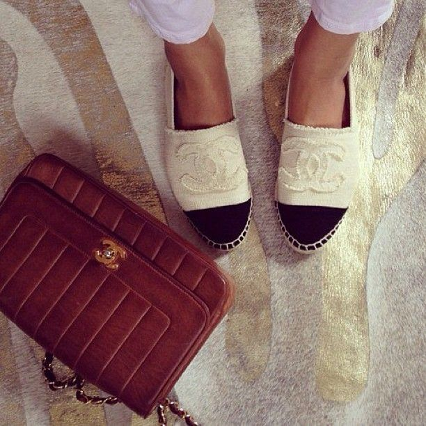 63a11bc9b9 chanel espadrilles saks | Chanel Espadrilles | Fashion, Chanel ...