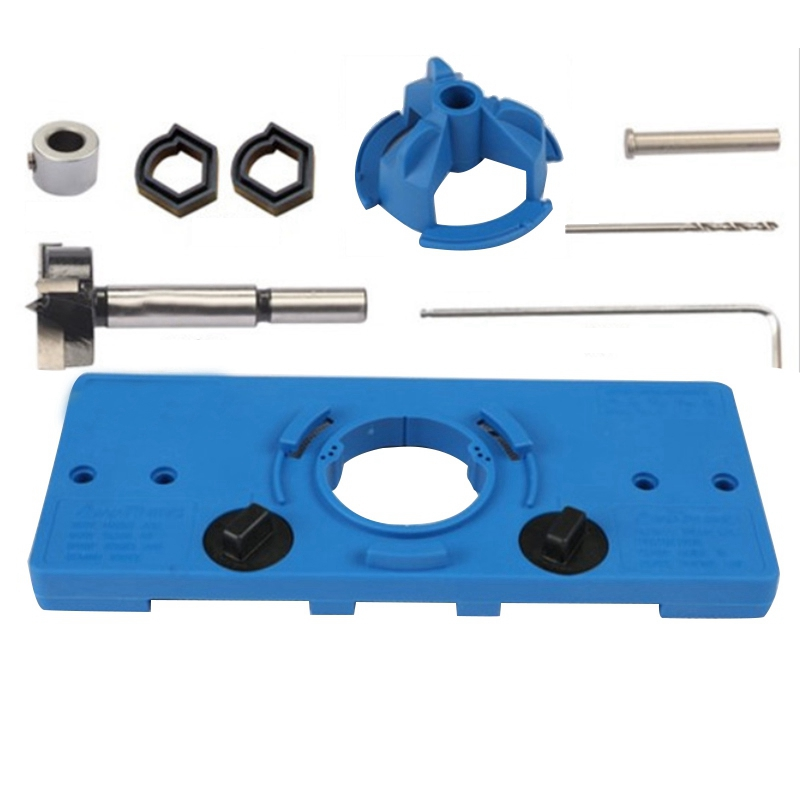 Concealed Hinge Jig Bit 35mm Drilling Drill Power Tool DIY