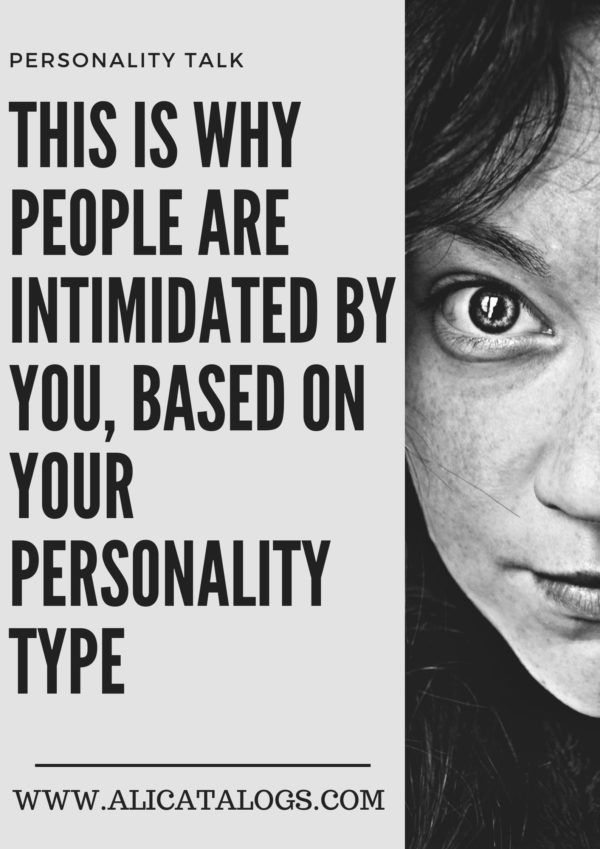 Do what you are infp intimidating