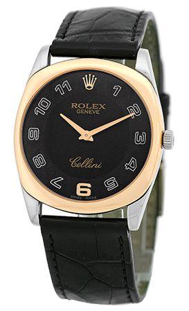 8ec92372b0c  Rolex  Cellini Danaos White Gold   Rose Gold  Watch Relógios Masculinos