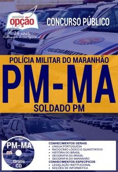 Apostila Concurso Pm Ma 2017 Soldado Pm Concurso Policia Militar