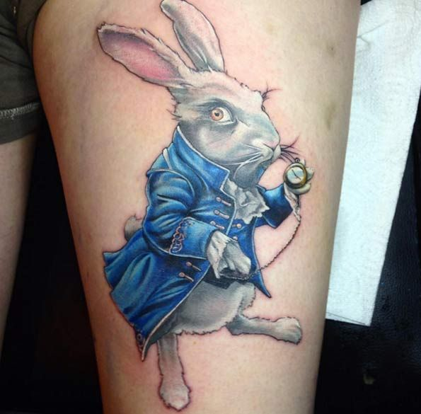 100+ Best Alice In Wonderland Tattoos | Wonderland tattoo ...